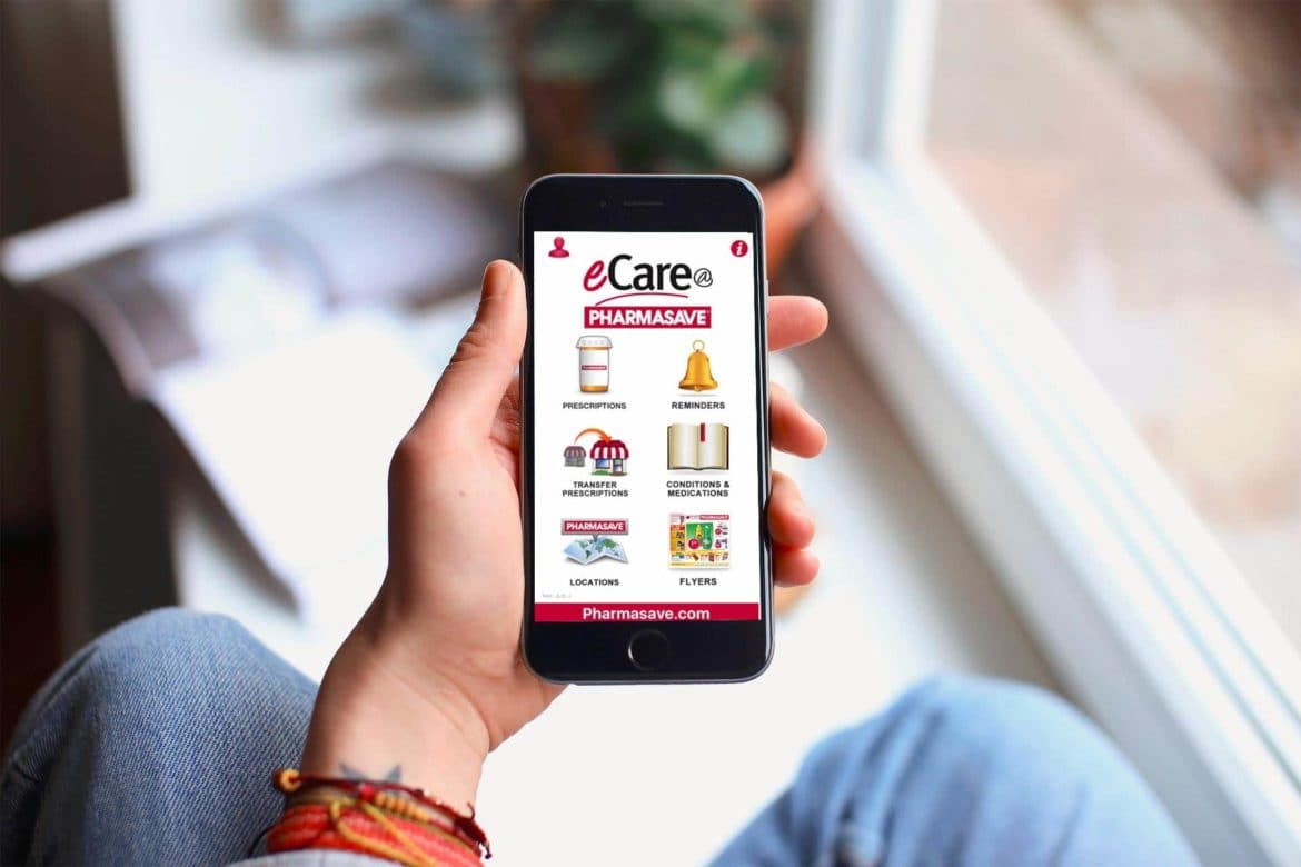 download the pharmasave ecare app